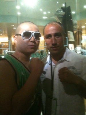 2 KINGS: KING J on the left and King Arthur Abraham