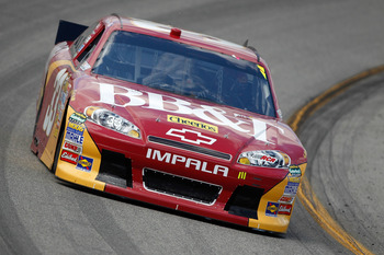 RICHMOND, VA - APRIL 29:  Clint Bowyer, driver of the #33 BB&T Chevrolet, practices for the NASCAR Sprint Cup Series Crown Royal Presents The Matthew & Daniel Hansen 400 at Richmond International Raceway on April 29, 2011 in Richmond, Virginia.  (Photo by