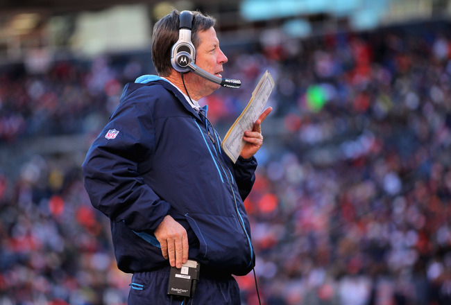 DENVER - JANUARY 02:  Head coach Norv Turner of the San Diego Chargers leads his team against the Denver Broncos at INVESCO Field at Mile High on January 2, 2011 in Denver, Colorado. The Chargers defeated the Broncos 33-28.  (Photo by Doug Pensinger/Getty