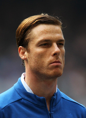 CARDIFF, WALES - MARCH 26: Scott Parker of England looks on during the UEFA EURO 2012 Group G qualifying match between Wales and England at the Millennium Stadium on March 26, 2011 in Cardiff, Wales.  (Photo by Alex Livesey/Getty Images)