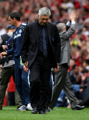 It's still uncertain whether current Chelsea manager Carlo Ancelotti will survive the axe this summer.