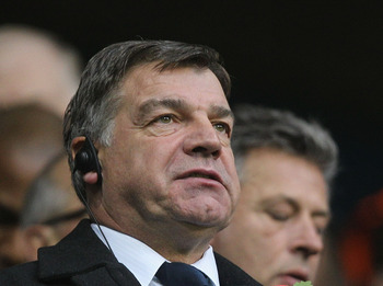 LONDON, ENGLAND - NOVEMBER 13: Sam Allardyce manager of Blackburn looks on from the stands ahead of the Barclays Premier League match between Tottenham Hotspur and Blackburn Rovers at White Hart Lane on November 13, 2010 in London, England.  (Photo by Ham