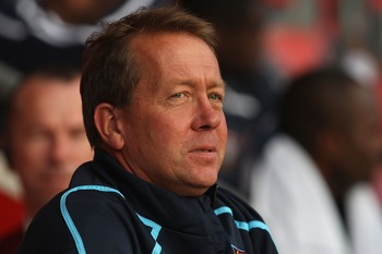SOUTHAMPTON, UNITED KINGDOM - AUGUST 01:  West Ham manager Alan Curbishley looks on ahead of the Pre Season Friendly match between Southampton and West Ham United at St Mary's Stadium on August 1, 2008 in Southampton, England.  (Photo by Hamish Blair/Gett