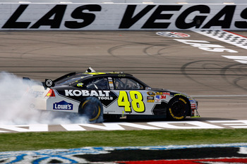 Jimmie Johnson has won the majority of his races on the intermediate tracks.