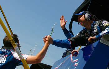 Chad Knaus may only have one win but there are more to follow.