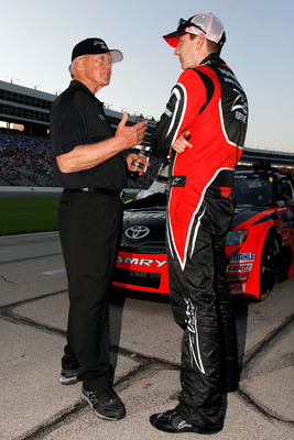 Joe Gibbs is the man that can kepp the lid on  Rowdy Busch.