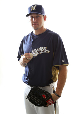 Thanks to his upper 90s fastball and his experience, Mark Rogers is the best pitching prospect in the Brewers system.