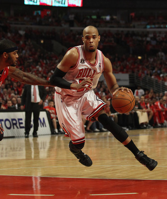 "Taj Gibson, member of ""The Bench Mob"""