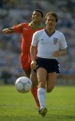 Kenny Sansom, one of England's best ever full-backs
