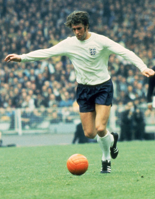England's World Cup hat-trick hero Sir Geoff Hurst