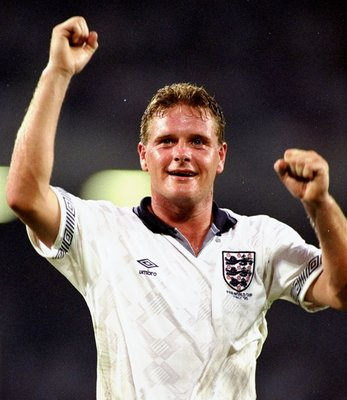 Paul Gascoigne was one of the stars of Italia '90