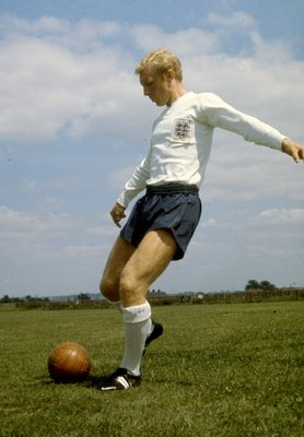 England's World Cup winning captain, the late Bobby Moore