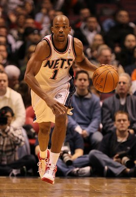 EAST RUTHERFORD, NJ - DECEMBER 16:  Rafer Alston #1 of the New Jersey Nets in action against The Utah Jazz during their game on December 16th, 2009 at The Izod Center in East Rutherford, New Jersey.  NOTE TO USER: User expressly acknowledges and agrees th