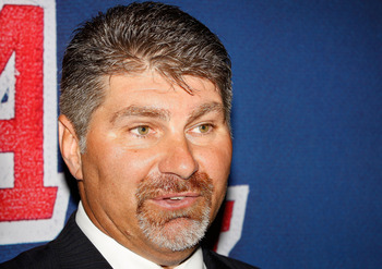 MONTREAL, QC - JUNE 27:  Ray Bourque looks on during the 2009 NHL Entry Draft at the Bell Centre on June 27, 2009 in Montreal, Quebec, Canada.  (Photo by Richard Wolowicz/Getty Images)