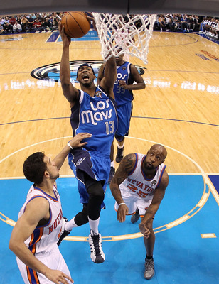 DALLAS, TX - MARCH 10:  Forward Corey Brewer #13 of the Dallas Mavericks at American Airlines Center on March 10, 2011 in Dallas, Texas.  NOTE TO USER: User expressly acknowledges and agrees that, by downloading and or using this photograph, User is conse