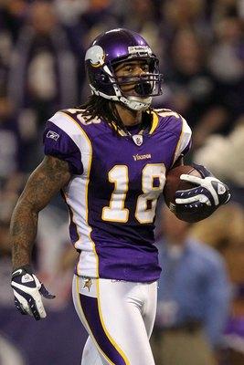 Sidney Rice, Minnesota Vikings