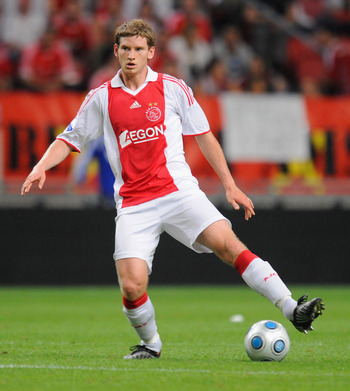AMSTERDAM, NETHERLANDS - JULY 26:  Ajax's Jan Vertonghen during the Amsterdam Tournament match between Ajax and Benfica at the Amsterdam Arena on July 26, 2009 in Amsterdam, Netherlands.  (Photo by Michael Regan/Getty Images)