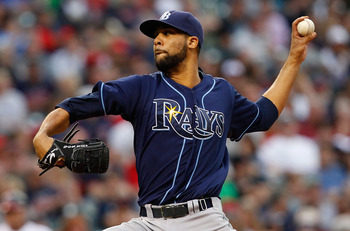 CLEVELAND - MAY 11:  David Price #14 of the Tampa Bay Rays pitches against  the Cleveland Indians during the game on May 11, 2011 at Progressive Field in Cleveland, Ohio.  (Photo by Jared Wickerham/Getty Images)