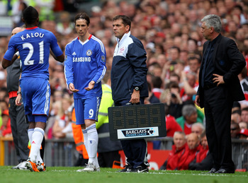 Carlo yet again is forced to turn to Fernando Torres