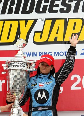 Patrick wins in Japan on April 20, 2008