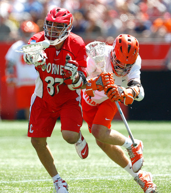 It is likely that we will see Syracuse and Cornell on the same field in the championship game.