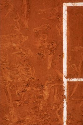 1993:  The red clay court of Roland Garros during the 1993 Frnach Open at Roland Garros in Paris, France. \ Mandatory Credit: Gary M Prior  /Allsport