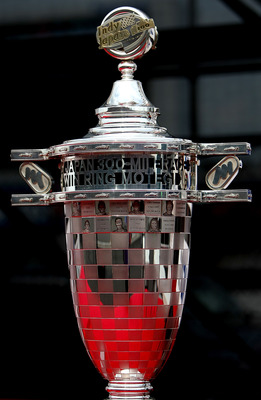 MOTEGI, JAPAN - SEPTEMBER 19:  A view of the trophy during the IndyCar Series  Indy Japan 300 on September 19, 2010 at Twin Ring Motegi in Motegi, Japan.  (Photo by Jonathan Ferrey/Getty Images)