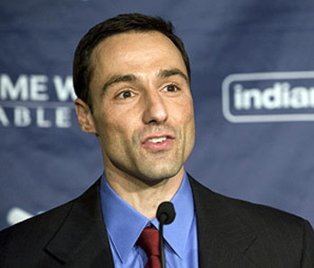 Indians' general manager, Chris Antonetti (photo courteous of sportsillustrated.com)