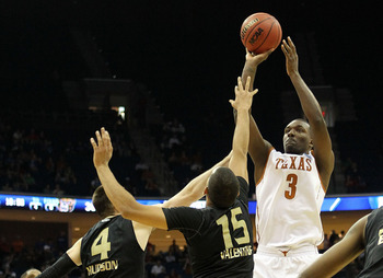 TULSA, OK - MARCH 18:  Jordan Hamilton #3 of the Texas Longhorns takes a shot against the Oakland Golden Grizzlies during the second round of the 2011 NCAA men's basketball tournament at BOK Center on March 18, 2011 in Tulsa, Oklahoma.  (Photo by Ronald M