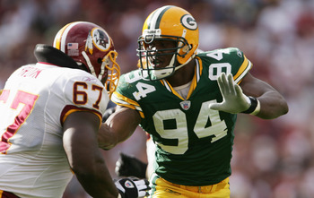 Kabeer  Gbaja-Biamila is among the Packers whose careers merited a Super Bowl championship.