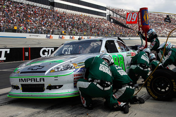 Dale Eanhardt Jr. has one of the best pit crews in NASCAR.
