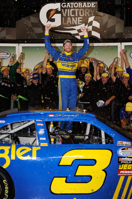 DAle Earnhardt Jr proved he can win under pressure by winning in the Wrangler Chevy.