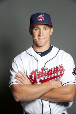 GOODYEAR, AZ - FEBRUARY 22: Cord Phelps #73 of the Cleveland Indians poses during their photo day at the Cleveland Indians Spring Training Complex on February 22, 2011 in Goodyear, Arizona. (Photo by Rob Tringali/Getty Images)
