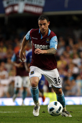 LONDON, ENGLAND - APRIL 23:  Wayne Bridge of West Ham in action during the Barclays Premier League match between Chelsea and West Ham United at Stamford Bridge on April 23, 2011 in London, England.  (Photo by Dan Istitene/Getty Images)