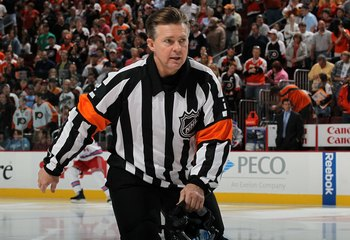 The NHL certainly misses talented referees like Kerry Fraser.