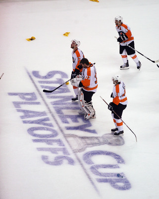 The Philadelphia Flyers looked lethargic this post-season after a lengthy run last year.