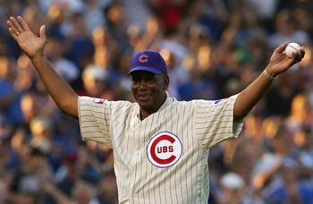 Hall of Famer Ernie Banks