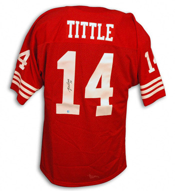 Y.A. Tittle is a Hall of Fame 49er