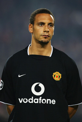 STUTTGART - OCTOBER 1:  Portrait of Rio Ferdinand of Manchester United taken before the UEFA Champions League Group E match between VfB Stuttgart and Manchester United held on October 1, 2003 at the Gottlieb-Daimler Stadion, in Stuttgart, Germany. VfB Stu