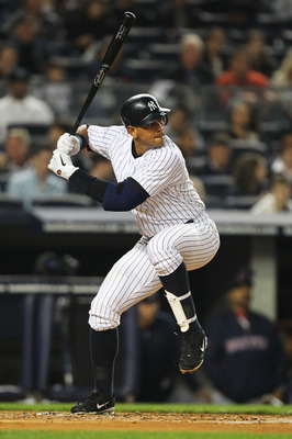 NEW YORK, NY - MAY 15:  Alex Rodriguez #13 of the New York Yankees in action against the Boston Red Sox during their game on May 15, 2011 at Yankee Stadium in the Bronx borough of New York City.  (Photo by Al Bello/Getty Images)