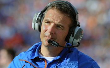 Former Gator coach Urban Meyer said he wanted to make sure he signed the Gainesville area's top prospects as often as possible.