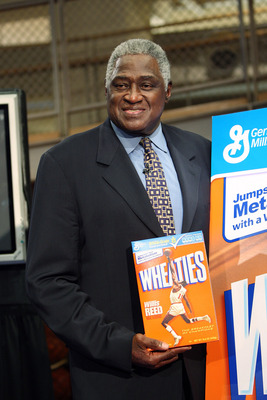 NEW YORK - FEBRUARY 04:  NBA legend Willis Reed poses with his Wheaties box during the unveiling of the special-edition Wheaties box at the NBA Store on February 4, 2009 in New York City.  (Photo by Scott Gries/Getty Images)