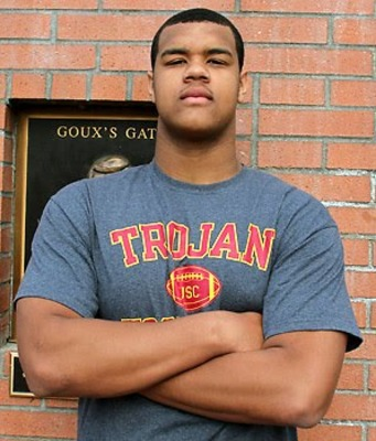 DE Arik Armstead is a USC commit and top DL