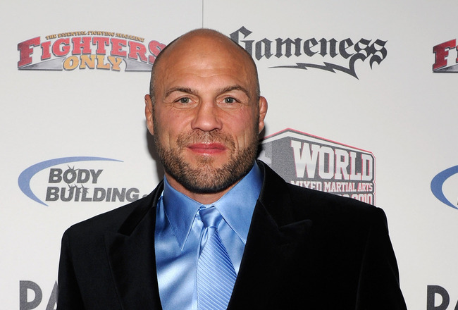 LAS VEGAS, NV - DECEMBER 01:  Mixed martial artist and actor Randy Couture arrives at the third annual Fighters Only World Mixed Martial Arts Awards 2010 at the Palms Casino Resort December 1, 2010 in Las Vegas, Nevada.  (Photo by Ethan Miller/Getty Image