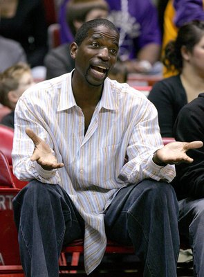 SAN DIEGO - OCTOBER 22:   Former Lakers and Suns player A.C. Green attends the preseason game between  the Los Angeles Lakers the Phoenix Suns on October 22, 2006 at the iPayOne Center in San Diego, California. NOTE TO USER: User expressly acknowledges an