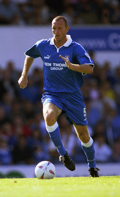 CARDIFF - AUGUST 17:  Spencer Prior of Cardiff City in action during the Nationwide League Divison Two match between Cardiff City and Northampton Town at the Ninian Park in Cardiff on August 17, 2002. (Photo by Pete Norton/Getty Images)