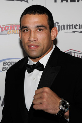 LAS VEGAS, NV - DECEMBER 01:  Mixed martial artist Fabricio Werdum arrives at the third annual Fighters Only World Mixed Martial Arts Awards 2010 at the Palms Casino Resort December 1, 2010 in Las Vegas, Nevada.  (Photo by Ethan Miller/Getty Images)