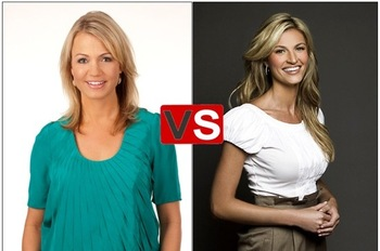 Michelle Beadle Takes a Shot at Erin Andrews