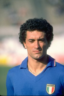 Jan 1981:  Portrait of Claudio Gentile of Italy. \ Mandatory Credit: Allsport UK /Allsport