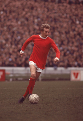 1970:  Denis Law of Manchester United. \ Mandatory Credit:  Don Morley/Allsport